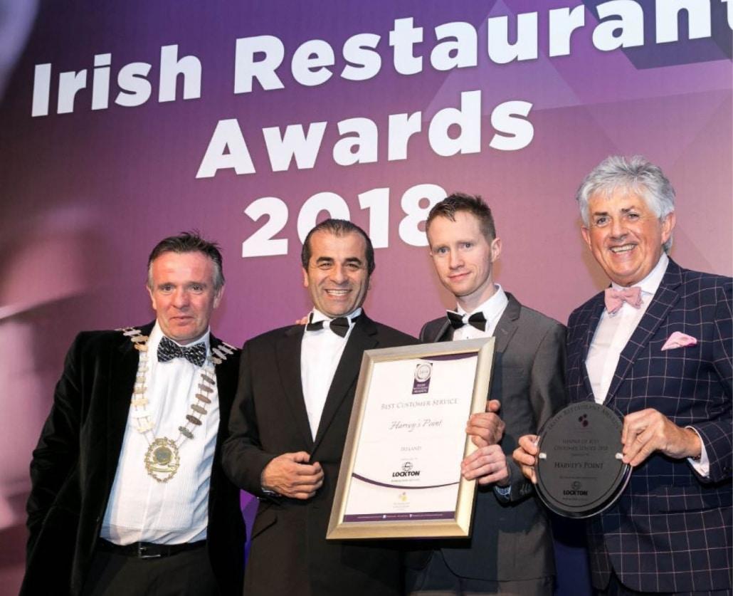 Best Customer Service Ireland - Irish Restaurants Awards 2018