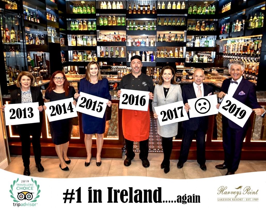 Tripadvisor number 1 hotel in Ireland Harvey's Point - Deirdre's Diary